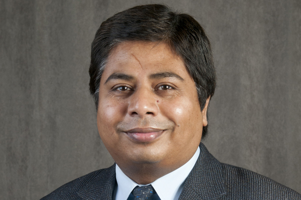 Closeup of lead researcher Dutta.