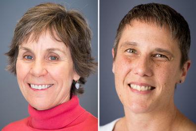 Individual closeups of Katz and Sattler.