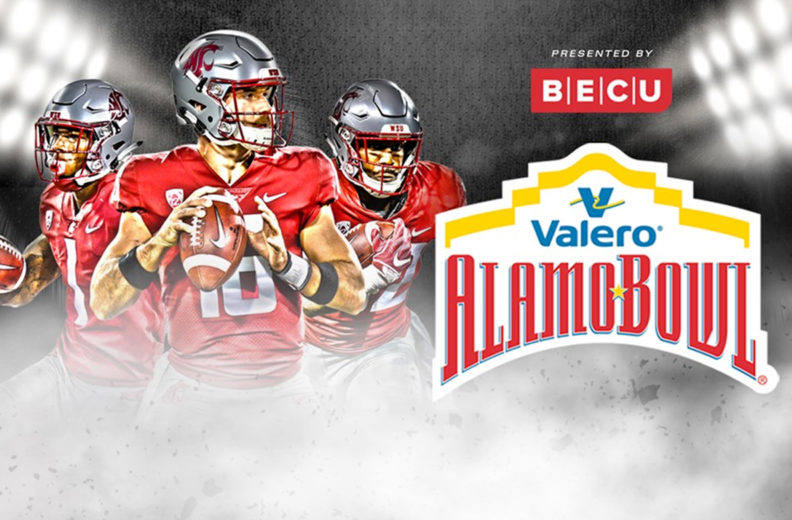 The Cougars will play in the Valero Alamo Bowl, presented by BECU.