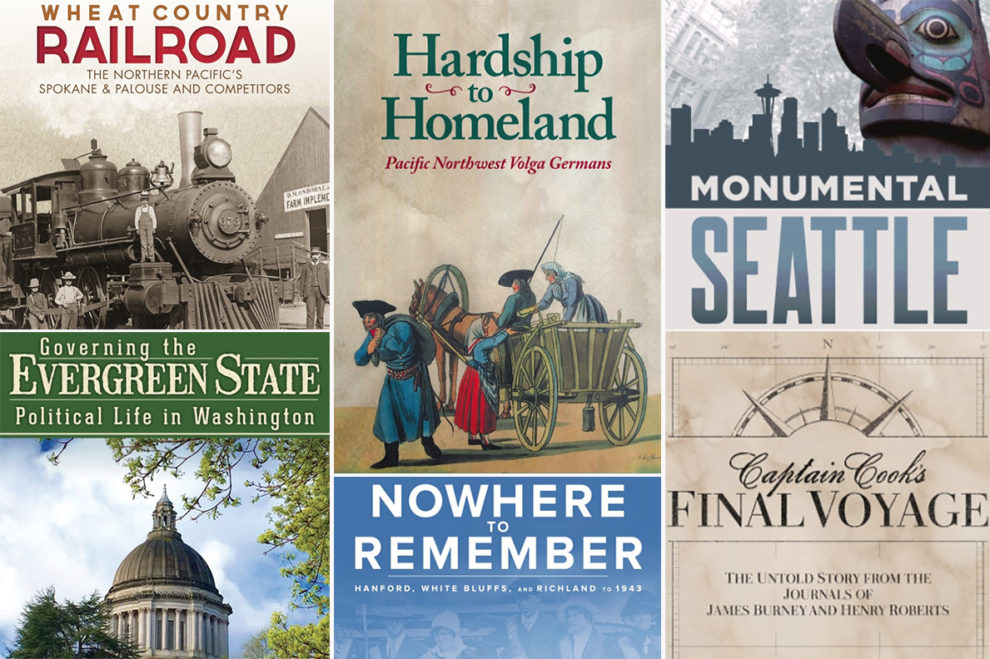 Collection of various WSU Press book covers.