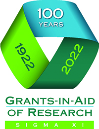 Sigma Xi Grants-in-Aid of Research program will turn 100 in 2022.