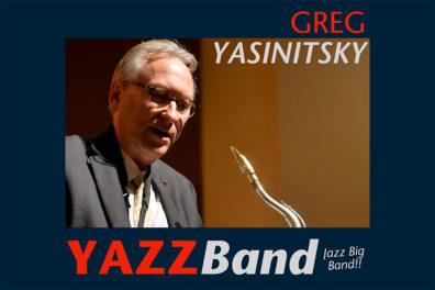 CD cover of 'YAZZ Band' featuring photo of Yasinitsky.
