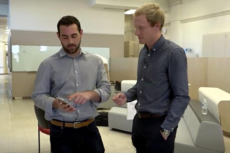 TJ Goble, left, and Lars Neuenschwander, right.