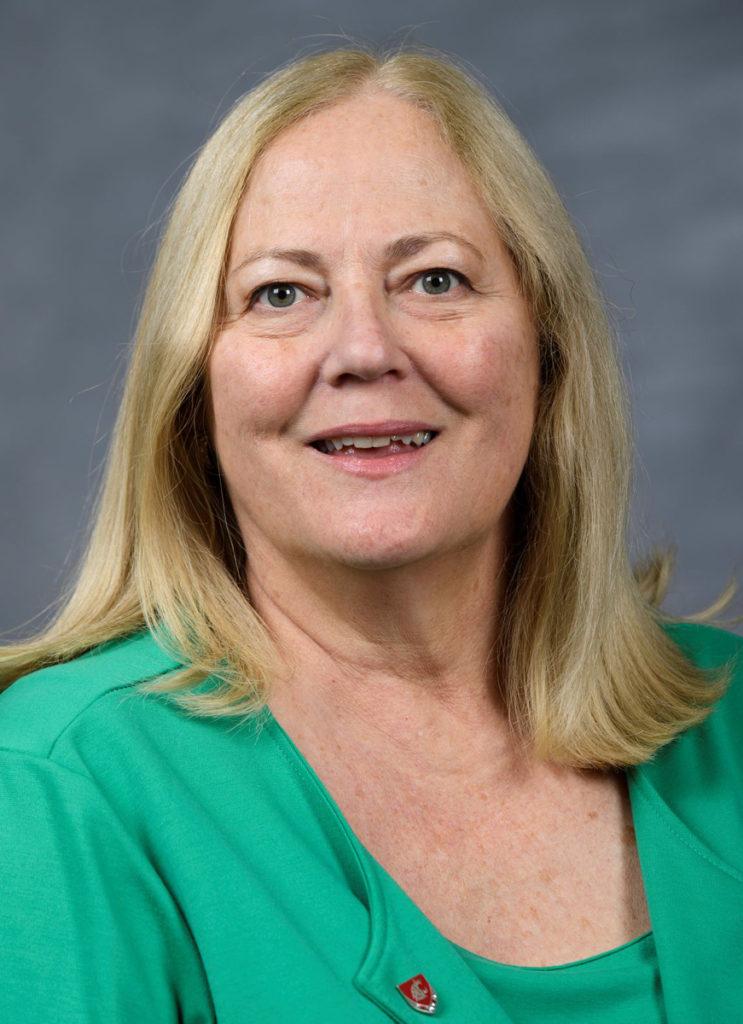 Closeup of Theresa Elliot-Chelsek.