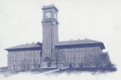 Historic image of Bryan Hall in 1909.