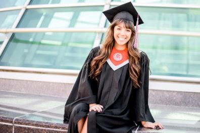 Image of Carson College graduate.