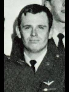 Closeup of Captain Larry A. Trimble.