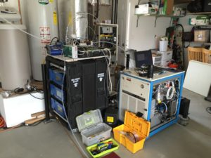 Air monitoring equipment