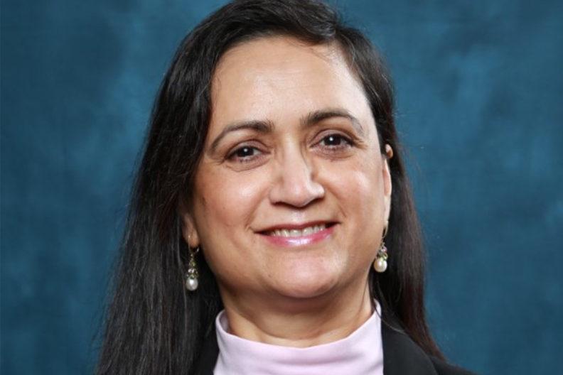 A headshot of Geeta Dutta