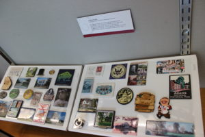 Collection of presidential magnets