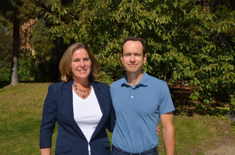 Jill and Matt McCluskey