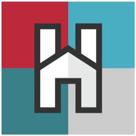 Hack-A-House logo.