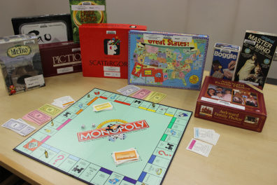 Various boardgames