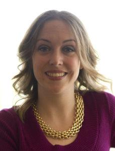 Closeup of Christine Curtis