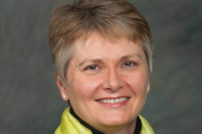 Closeup of Karen Weathermon.