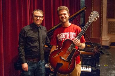 Pianist Jake Svendsen and guitarist Gabe Condon.