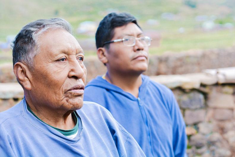 Two Native American men