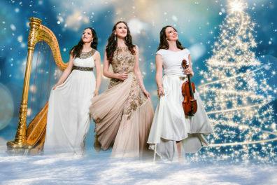 Promotional image of Irish musical trio Affiniti