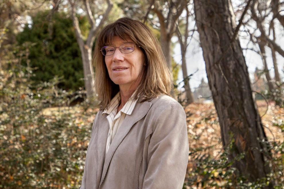 Closeup of Vicki McCracken.