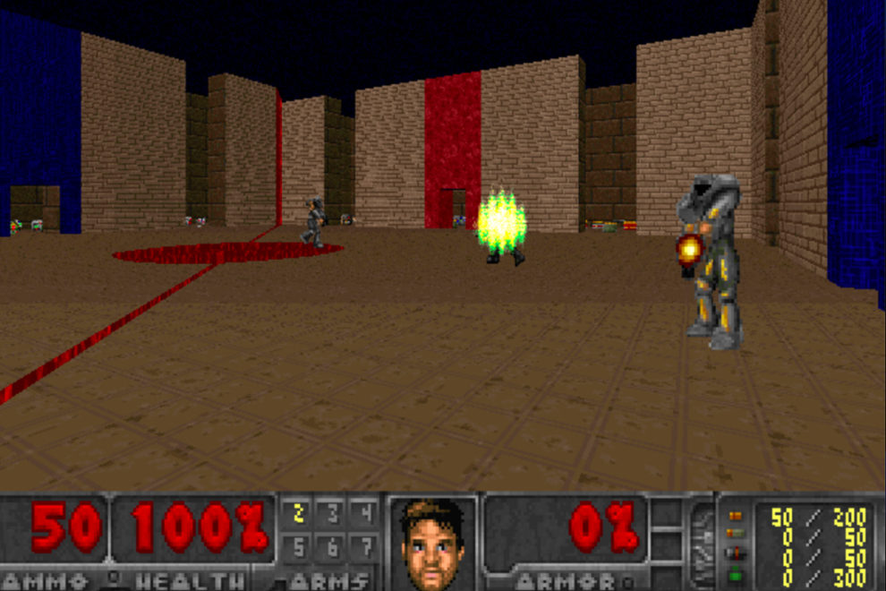 Screen shot of a video game.