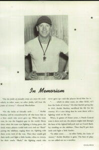 An obituary of WSU alumni Archie Buckley.