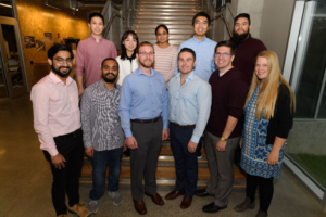 A group of current DGRP students at the 2019 DGRP Cohort Announcement
