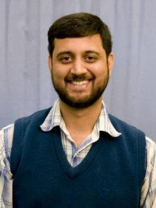 Closeup of Ananth Kalyanaraman