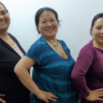 Kapiolani Micky, of the Micronesian Islander Community Organization; Principal Investigator Jacqueline Leung, board chair of the organization; and co-Principal Investigator Connie Nguyen-Truong, assistant professor at the WSU