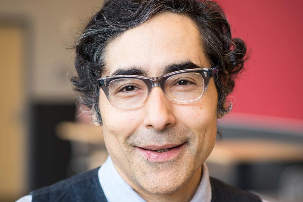 Closeup of Pablo Monsivais