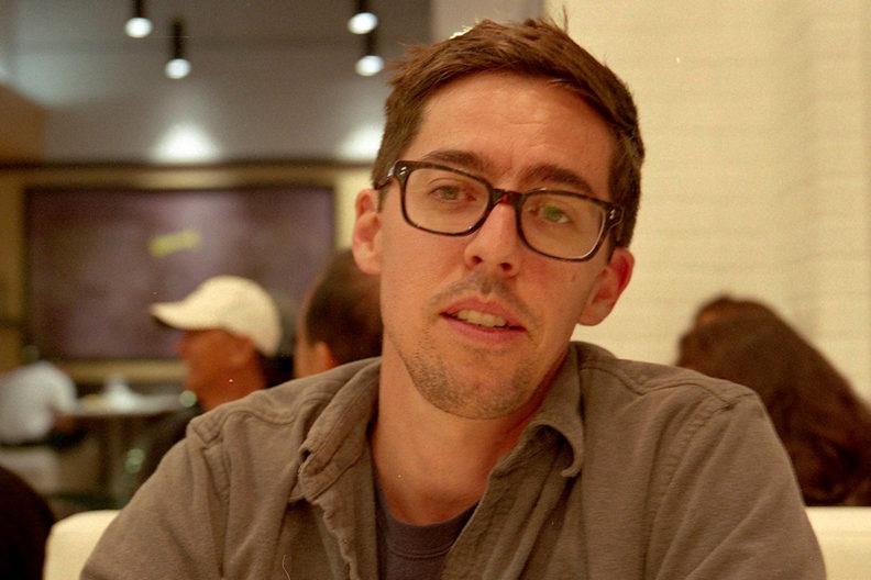 Closeup of Patrick Coleman.