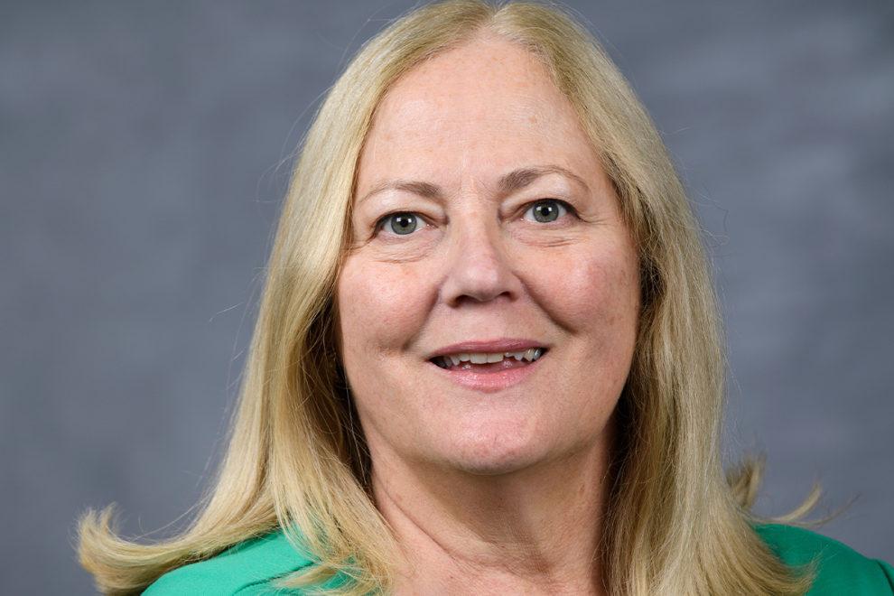Closeup of Theresa Elliot-Cheslek