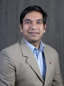 Closeup of Subhanshu Gupta