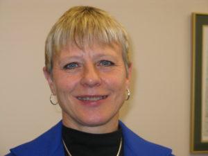 Closeup of Nancy Irlbeck