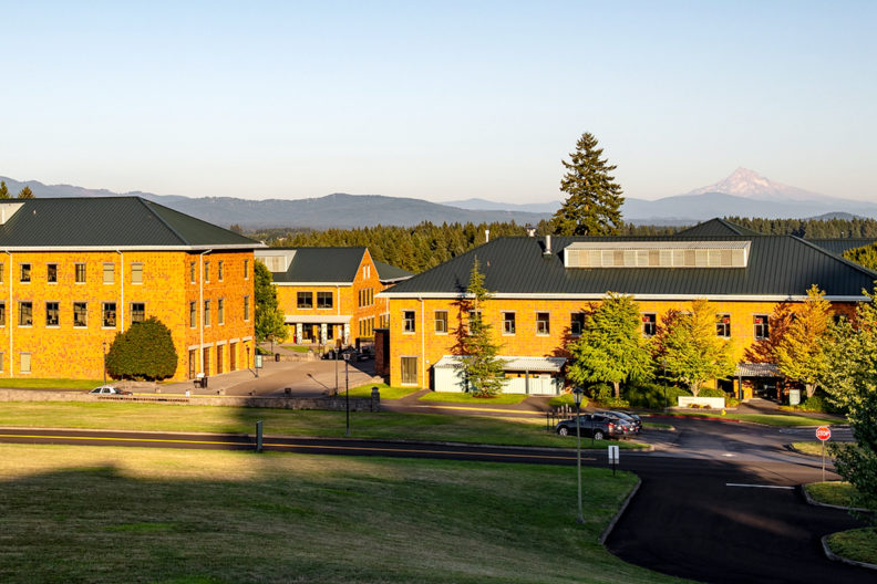 Exterior view of the WSU Vancouver campus.
