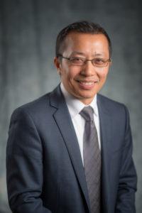 Closeup of Henry Huang