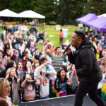 A moment of celebration at Spokane Pride and Rainbow Festival 2019