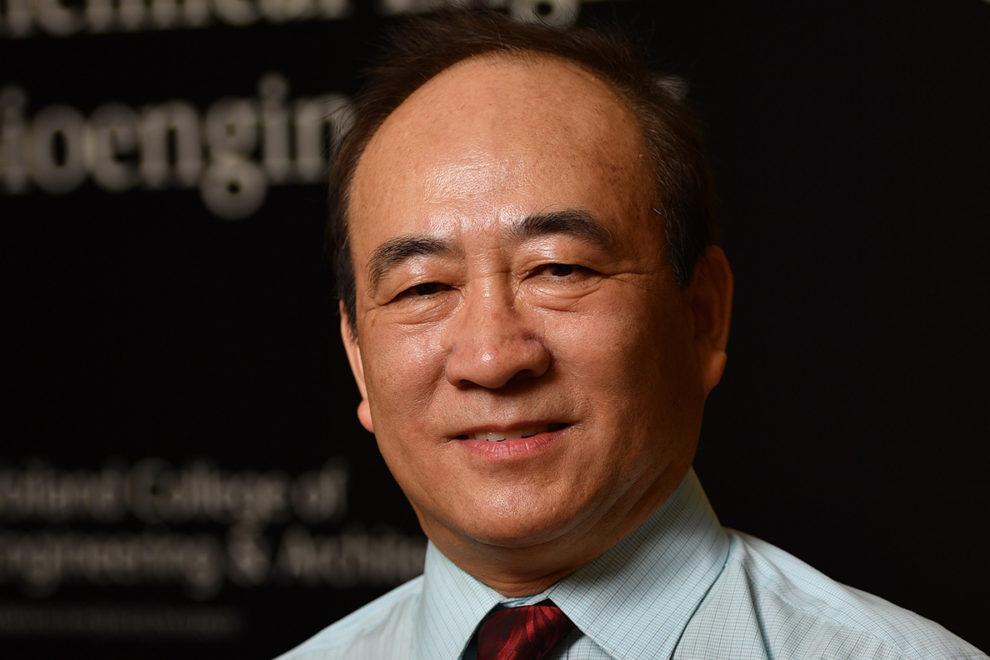 Closeup of Wenji Dong