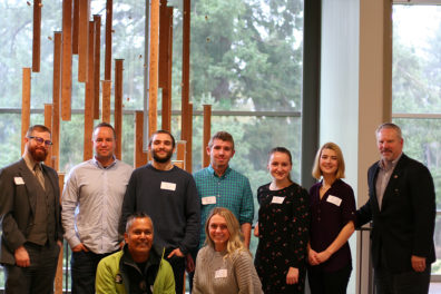 Students in WSU Vancouver's Business Growth Mentor and Analysis Program