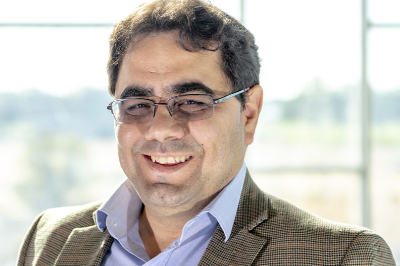 Closeup of Manuel Garcia-Pérez