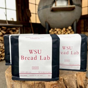 WSU Bread Lab branded coffee