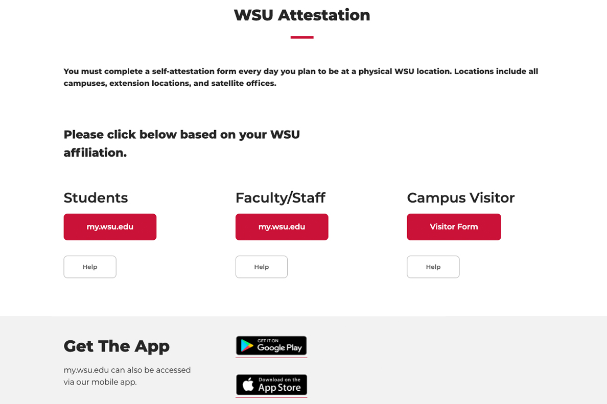New Website Launched For Required Attestation Wsu Insider Washington State University