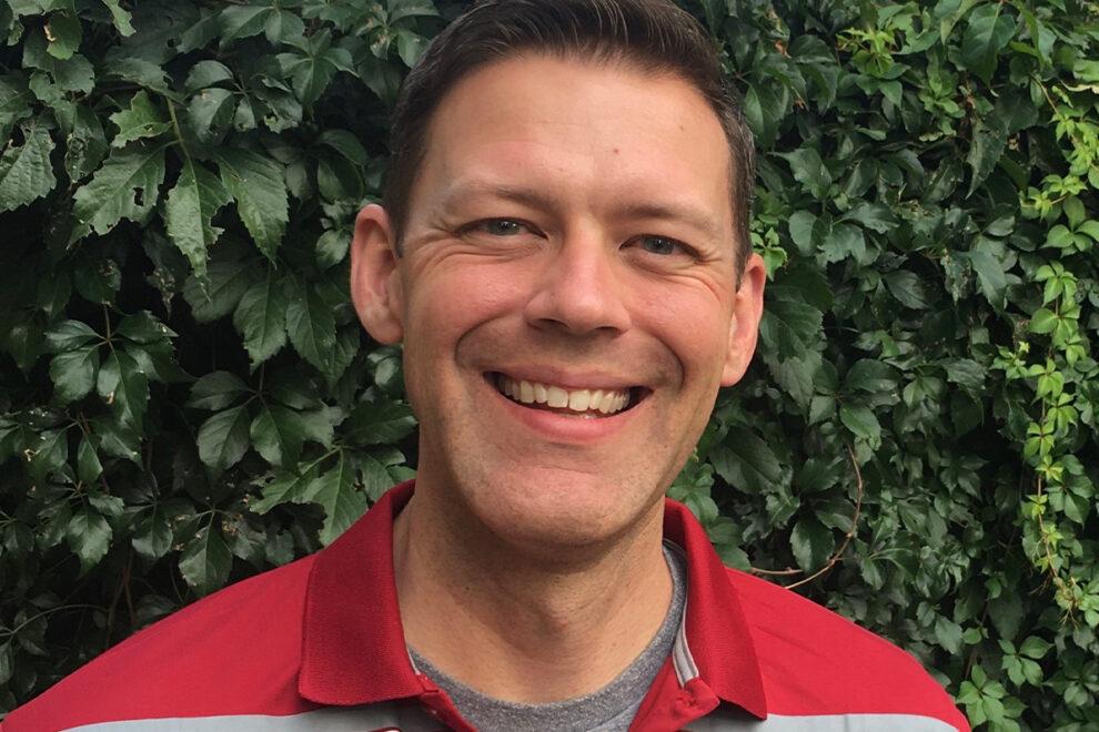 Closeup of Joel Schwartzkopf