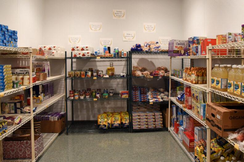 A food pantry