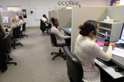A survey call center