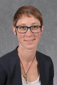 Closeup of Dr. Katie Kuehl