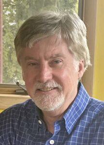 Closeup of Paul Buckley.