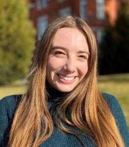 Closeup of Haley Morris