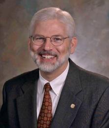 Closeup of David J. Allard