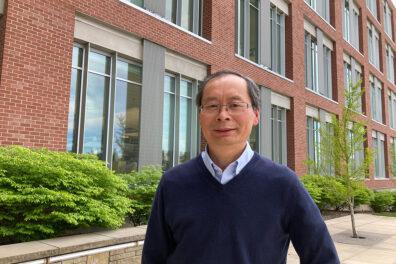 Closeup of Zhihua Jiang