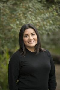 Closeup of Karina Gallardo